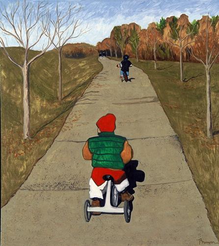 Autumn, 34 x 31, 1996