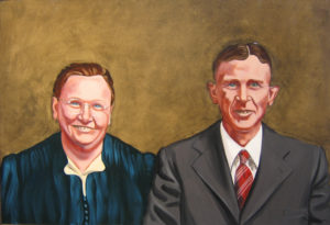 Heartland--Carrie and Curtis, 26 x 38, 2008