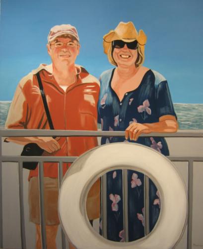 Heartland--Ferry, 34 x 42, 2008