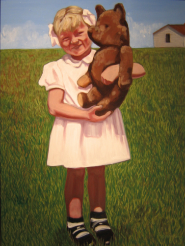 Heartland--Flo in the Field, 24 x 18, 2008