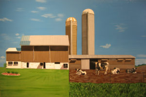Heartland--Michigan, 32 x 40, 2008