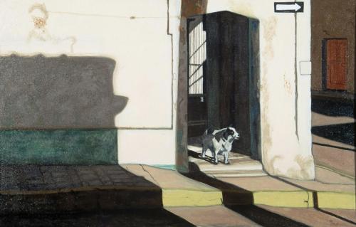 One Way, 28 x 43, 1994